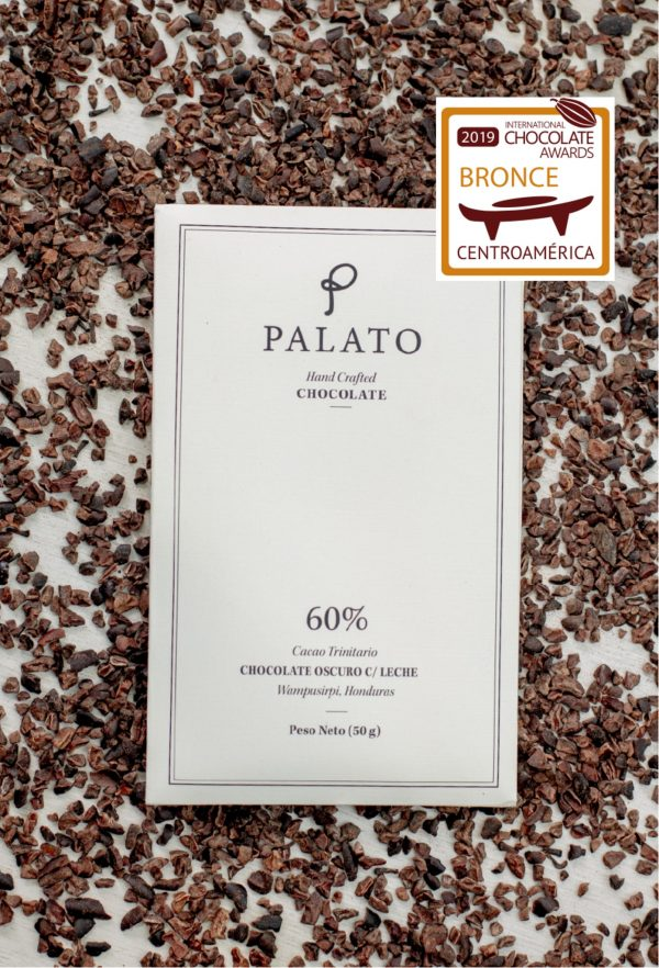 Palato 60 % Dark Chocolate Bar with Milk