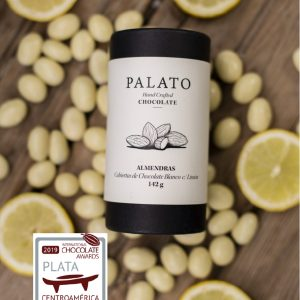 Palato Dark Chocolate Covered Almonds with Lemon