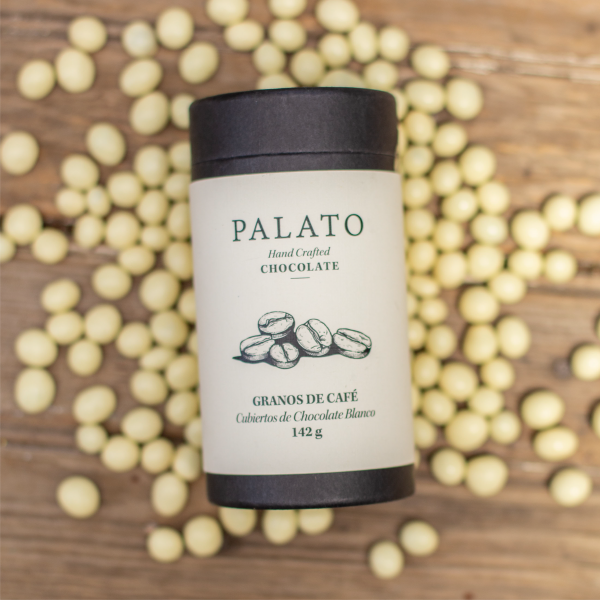 Palato White Chocolate Covered Coffee Beans