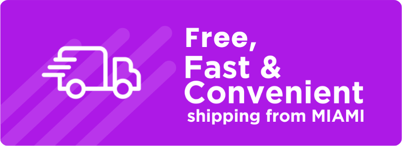 free_fast_convenient_shipping_from_Miami