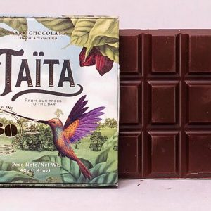 Taita Dark Chocolate 60% Cacao Cocoa - 40g