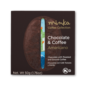 Minka Organic Chocolate & Coffee Bar Americano - 50G