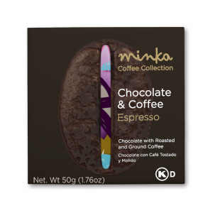Minka Organic Chocolate & Coffee Bar Espresso - 50g