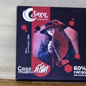 Sagu Chocolate 60% Cacao With Sea Salt - 40g