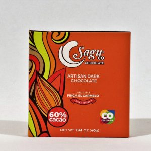 Sagu 60% Cocoa Artisan Dark Chocolate - 40g
