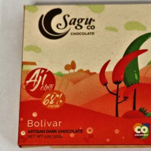 Sagu Dark Chocolate 68% Chili Cacao - 30g