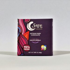 Sagu 70% Cocoa Artisan Dark Chocolate - 40g