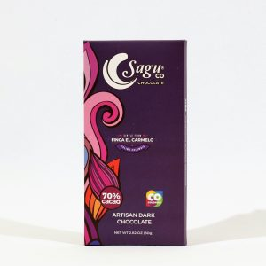 Sagu Chocolate 70% Cocoa Artisan Dark Chocolate - 80g