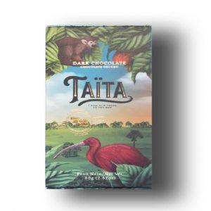 Taita 72% Dark Chocolate Bar 80G