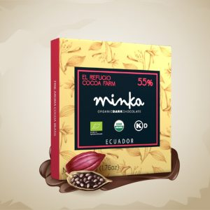 Minka 55% Hacienda EL Refugio - Dark Chocolate Bar 50 gm