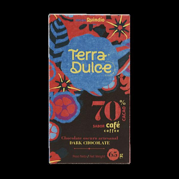Dark Chocolate 70% Cacao with coffee 65 g